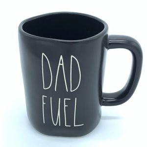 "Rae Dunn ""DAD FUEL"" Black LL Mug"